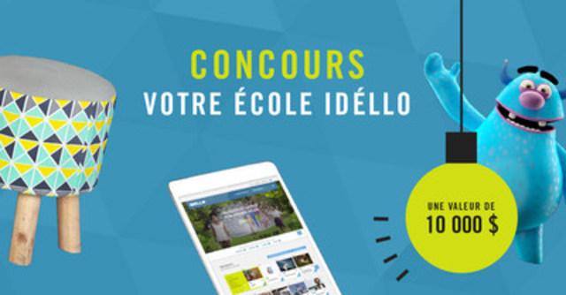 Groupe Média TFO lance le premier concours IDÉLLO pour transformer l'expérience d'apprentissage des élèves en salle de classe. (Groupe CNW/Groupe Média TFO)