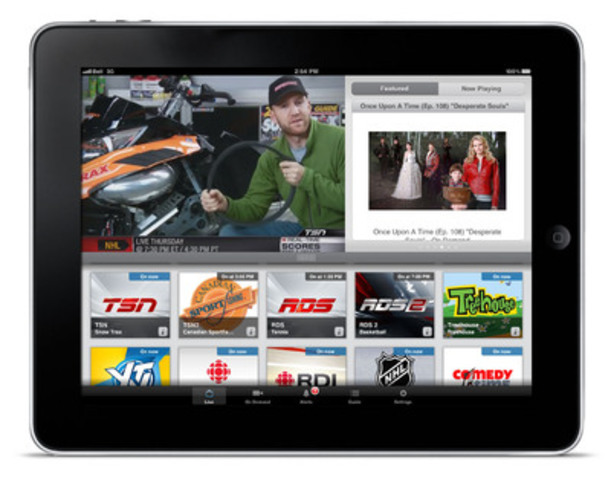 Bell announces its most exciting Mobile TV sports lineup (CNW Group/BELL CANADA)
