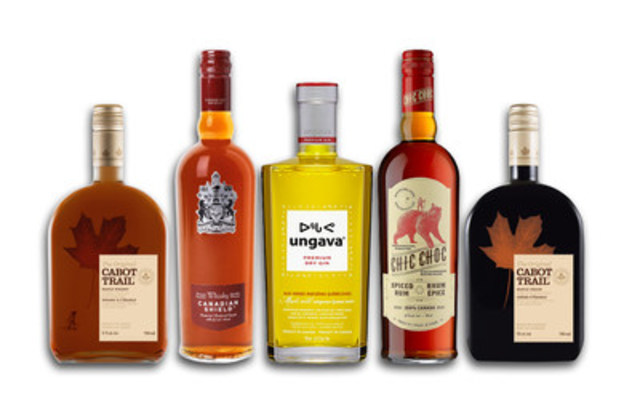 The transaction includes Domaines Pinnacle's spirits portfolio of distinctly Canadian brands, including the unique Ungava® Premium Canadian gin brand, Chic Choc® spiced rum, and a range of maple-based liqueurs including Coureur des Bois® and Cabot Trail®. (CNW Group/Corby Spirit and Wine Communications)