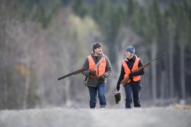 Chasse au petit gibier dans la réserve faunique de Rimouski (Groupe CNW/Société des établissements de plein air du Québec)
