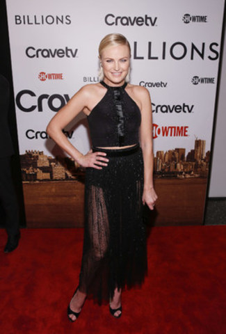 Canadian actress Malin Akerman attends the premiere of the new SHOWTIME drama BILLIONS, January 7 at MoMA in New York (CNW Group/CraveTV)