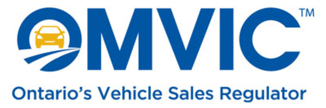 Ontario Motor Vehicle Industry Council (OMVIC) (CNW Group/Ontario Motor Vehicle Industry Council (OMVIC))