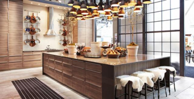 cnw ikea cr e un espace d 39 entreposage reconverti en un lieu branch pour l 39 ids13 de toronto. Black Bedroom Furniture Sets. Home Design Ideas