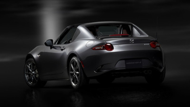 Mazda MX-5 RF (North American specifications) (CNW Group/Mazda Canada Inc.)