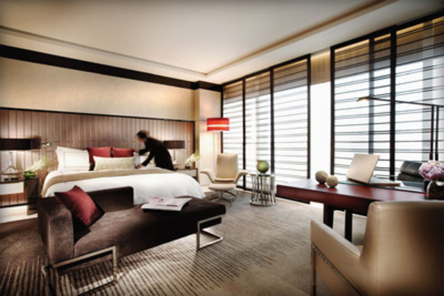 Four Seasons Hotels and Resorts opens its 90th property in Pudong, Shanghai (CNW Group/Four Seasons Hotels and Resorts)