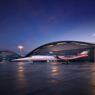 شركتا أيريون ولوكهيد مارتن تتحالفان لتطوير أول طائرة رجال أعمال سابقة للصوت في العالم