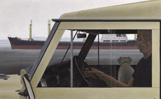 "Alex Colville's ""Harbour"" realized a final price of $1,888,000, surpassing its presale estimate and setting a new record for a Colville work sold at auction. (CNW Group/Heffel Fine Art Auction House)"