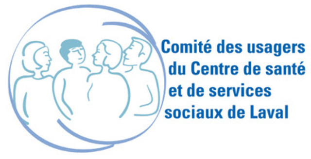 Logo : Comité des usagers du CSSS de Laval (Groupe CNW/Comité des usagers du CSSS de Laval)