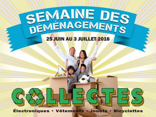 Consultez : www.semaineDESdemenagements.ORG (Groupe CNW/Regroupement des éco-quartiers)
