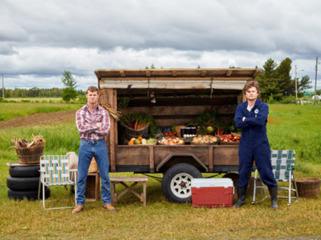 Wayne, Daryl, and the produce stand. You best be movin'' along now. (CNW Group/CraveTV)
