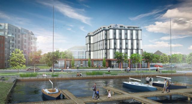 Le Delta Thunder Bay Hôtel et Centre des Congrès sera construit à Prince Arthur's Landing, projet s'inscrivant dans un réaménagement riverain de classe mondiale à Thunder Bay. Cet hôtel deviendra le premier hôtel 4 étoiles de luxe de la ville offrant des services complets grâce à des investissements de plus de 20 millions de dollars. (Groupe CNW/Delta Hotels)