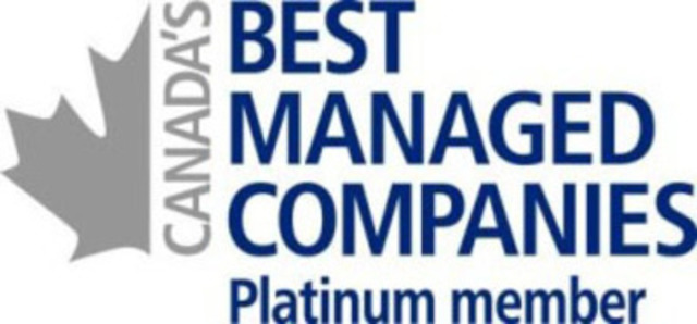 Canada's Best Managed Companies, Platinum Member (CNW Group/Day & Ross inc.)