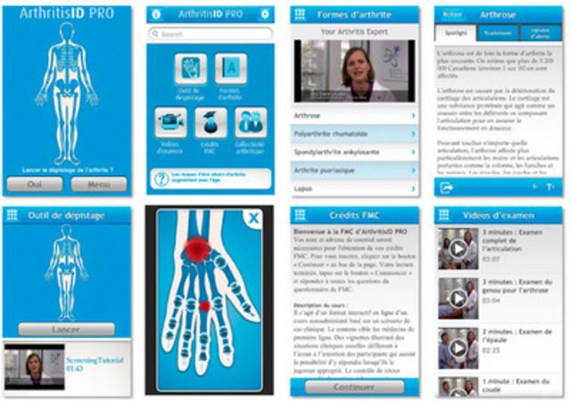 ArthritisID PRO (Groupe CNW/National Arthritis Awareness Program) (Groupe CNW/Programme national de sensibilisation à l'arthrite)