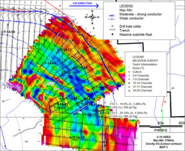 V10 Area (CNW Group/Wolfden Resources Corporation)