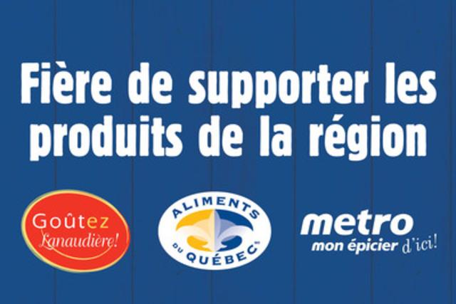 Affiche Métro Lanaudière. (Groupe CNW/METRO INC.)