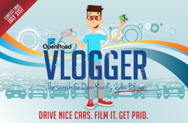 Drive Nice Cars. Film It. Get Paid. (CNW Group/OpenRoad Auto Group)