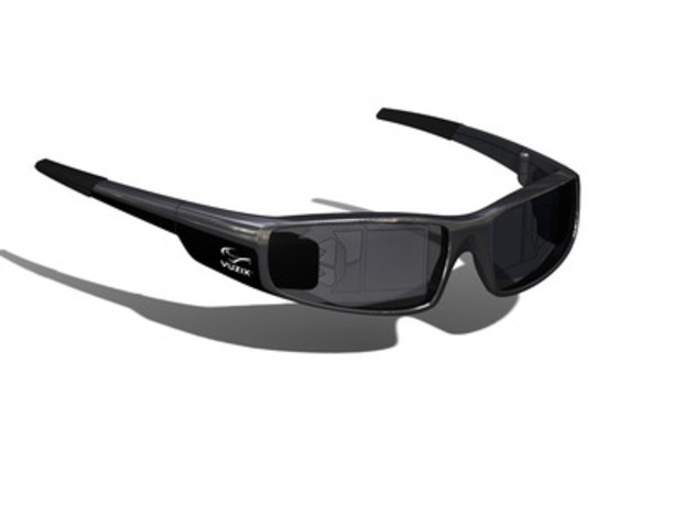 Vuzix Announces See-Through HD Augmented Reality Glasses in a Designer Sunglasses Form Factor. (CNW Group/Vuzix Corporation)