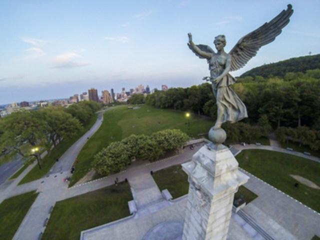 Vue du mont Royal - Gracieuseté de Denis-Carl Robidoux (Groupe CNW/Société des célébrations du 375e anniversaire de Montréal)