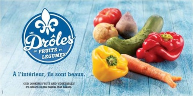 Odd looking fruit and vegetables (CNW Group/Sobeys Québec)