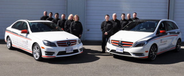 Awesome As Part Of Its Relentless Effort To Help Make Canadian Roads Safer For  Everyone, Mercedes ...