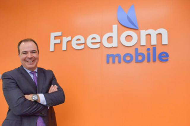 A new day for more affordable wireless services dawned across Canada as CEO Alek Krstajic today unveiled that WIND Mobile becomes Freedom Mobile with Canada's newest LTE network. (CNW Group/Freedom Mobile)