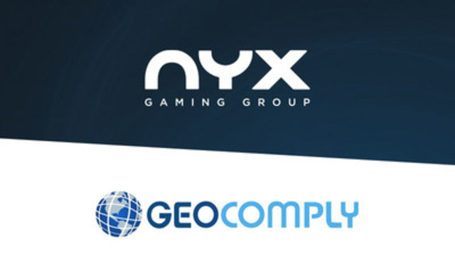 NYX and GeoComply collaboration takes strides in attracting millennials to on-site gambling (CNW Group/NYX Gaming Group Limited)
