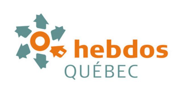 Logo Hebdos Québec (Groupe CNW/Hebdos Québec)