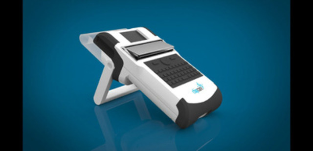 ChipCare's technology will provide simple-to-use, mobile, lab-quality blood testing for remote health settings. The University of Toronto start-up company's first HIV-related test, targeted at linking people with HIV to appropriate treatments, is scheduled to hit the market in late 2016. (CNW Group/ChipCare)