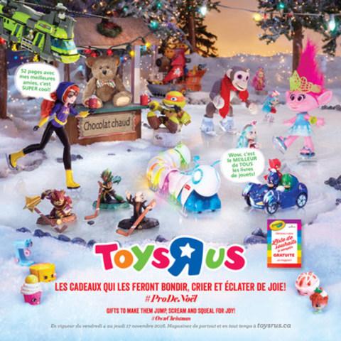 """La liste des jouets wow 2016 de Toys""""R""""Us®, Canada vous facilite le choix des cadeaux (Groupe CNW/Toys """"R"""" Us (Canada) Ltd.)"""
