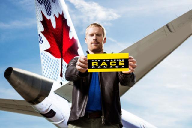 Jon Montgomery, Host of CTV's THE AMAZING RACE CANADA (CNW Group/CTV)