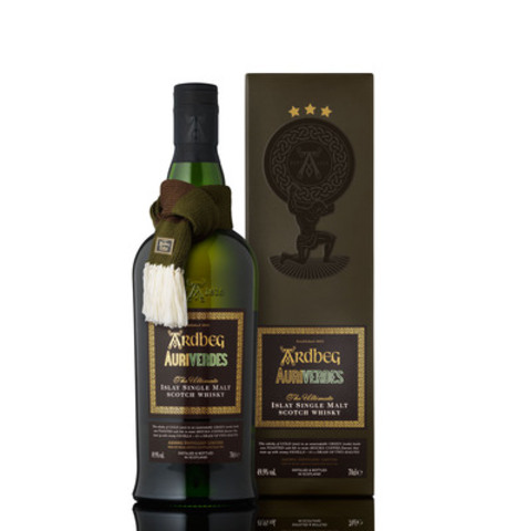 Ardbeg Distillery celebrates the upcoming launch of its 2014 Limited Edition, Auriverdes, on Ardbeg Day - Saturday, May 31. (CNW Group/Ardbeg)