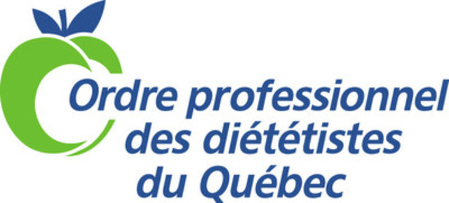 Ordre professionnel des diététistes du Québec (Groupe CNW/ORDRE PROFESSIONNEL DES DIETETISTES DU QUEBEC)