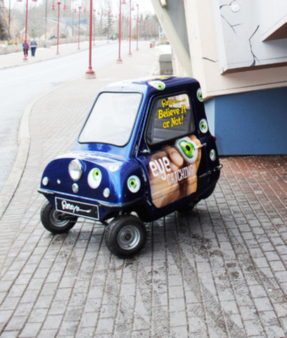 Ripley's Believe It or Not! Brings a Peel P50 Microcar to the Canadian International Auto Show (CNW Group/Ripley's Believe It or Not!)