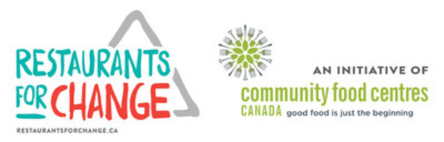Restaurants for Change / Community Food Centres Canada (CNW Group/Community Food Centres Canada)