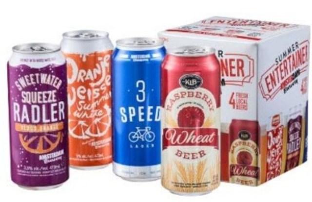 Avis de rappel d'aliments - Rappel de la bière « Sweetwater Squeeze Blood Orange Radler » de marque Amsterdam Brewery en raison du gonflement et de l'explosion des canettes (Groupe CNW/Agence canadienne d'inspection des aliments)