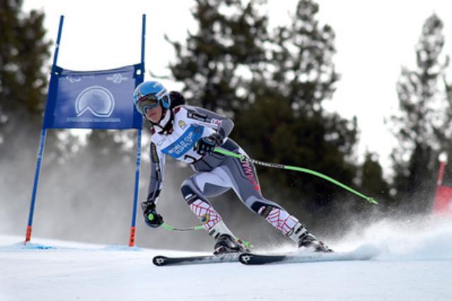 Panorama, C-B (8 mars 2015) - Une autre formidable journée de compétition s'est terminée aux Championnats du monde de ski alpin CIP 2015 avec en tête de l'équipe canadienne Alana Ramsay de Calgary, AB et sa 7ème position en slalom géant (debout) à la station de Panorama. (Groupe CNW/Comité paralympique canadien (CPC))
