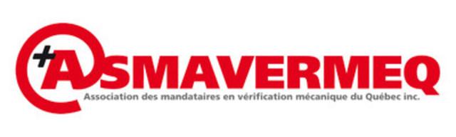 Logo : Association des mandataires en vérification mécanique du Québec (Groupe CNW/Association des mandataires en Vérification Mécanique du Québec inc)