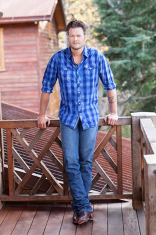 Blake Shelton, pictured, will be joined by Luke Bryan, at the Boots and Hearts Music Festival at the Canadian Tire Motorsport Park in Bowmanville, Ontario, taking place July 31 - August 3, 2014. Organizers are encouraging fans to act quickly as a limited supply of early bird tickets are available for $199.99 at www.bootsandhearts.com (CNW Group/Republic Live 2013 Inc)