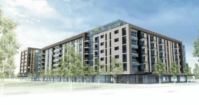 Chartwell annonce la construction d'une résidence à Saint-Hubert, Longueuil (Groupe CNW/Chartwell, résidences pour retraités)