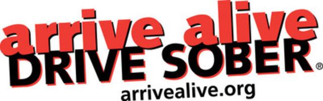 @drivesober - arrivealive.org - #ArriveAlive (CNW Group/arrive alive DRIVE SOBER)