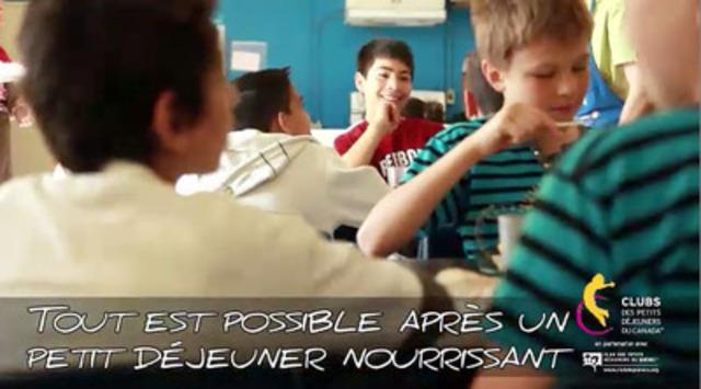 Video: Un petit déjeuner à la fois...Bâtissons le futur