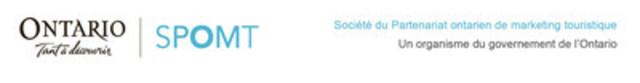 Societe du Partenariat ontarien de marketing touristique (Groupe CNW/Société du Partenariat ontarien de marketing touristique)