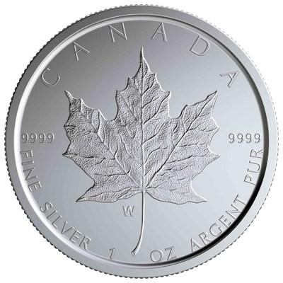 سك العملات من الفضة والذهب الخالص للمرة الأولى في منشأة دار سك العملة الملكية الكندية في وينيبيغ
