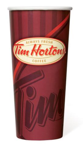 New Extra Large (CNW Group/Tim Hortons Inc.)
