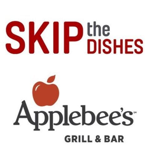 SkipTheDishes and Applebee's ink nationwide partnership to offer live GPS tracking of Applebee's deliveries (CNW Group/SkipTheDishes)