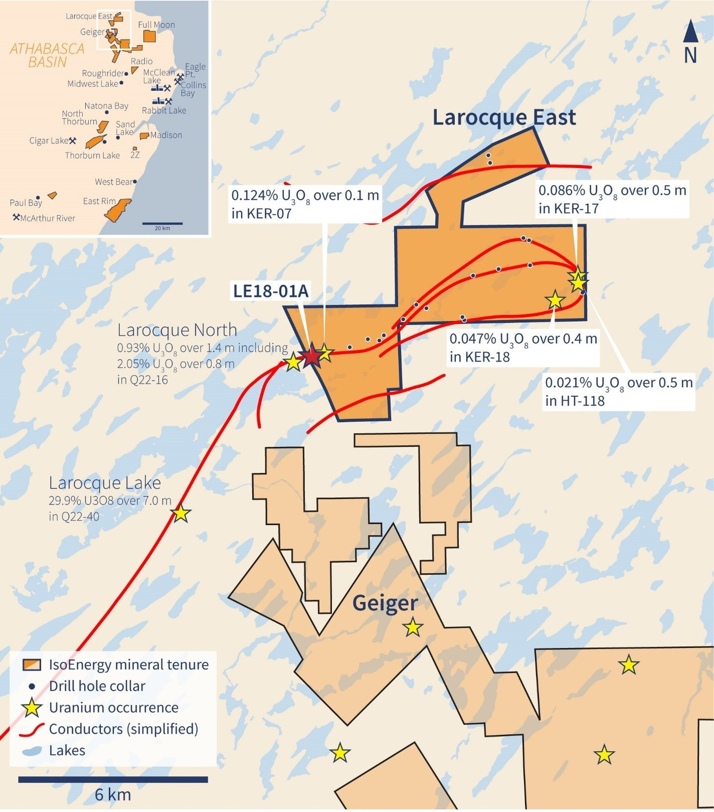 Figure 1 – Larocque East Property Location Map