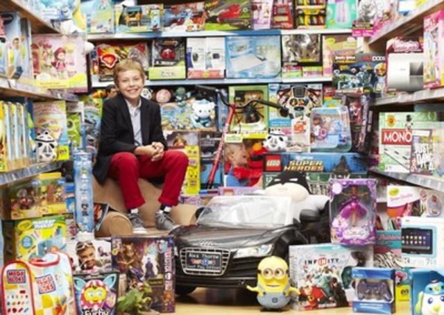 """Puisque Alex Thorne, le Président-divertissement général actuel de Toys""""R""""Us, Canada s'apprête à prendre sa retraite en fin décembre 2015, le concours pour trouver le prochain PDG est lancé! Postuler en visitant www.toysrus.ca/cposearch jusqu'au 4 octobre 2015. (Groupe CNW/Toys """"R"""" Us (Canada) Ltd.)"""