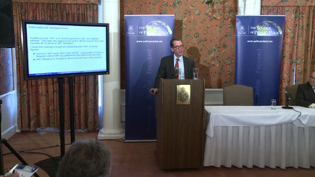 Video: A paper released today by The School of Public Policy finds that Canada's GST has become plagued by exemptions, rebates and rate reductions, and the impact is proving very costly.