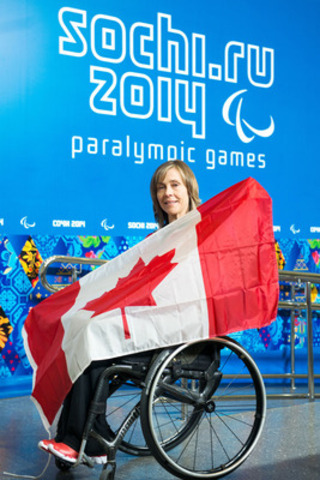 The Canadian Paralympic Committee announced today that wheelchair curler Sonja Gaudet (Vernon, B.C.) has been selected as flag bearer for Canada at the opening ceremony of the 2014 Paralympic Winter Games in Sochi, Russia (CNW Group/Canadian Paralympic Committee (CPC))