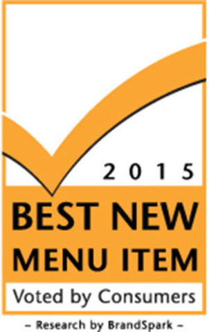 2015 Best New Menu Item (CNW Group/BrandSpark International)